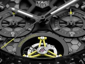 タグ・ホイヤー ブラック&ライムグリーンカラー クロノグラフ限定エディション