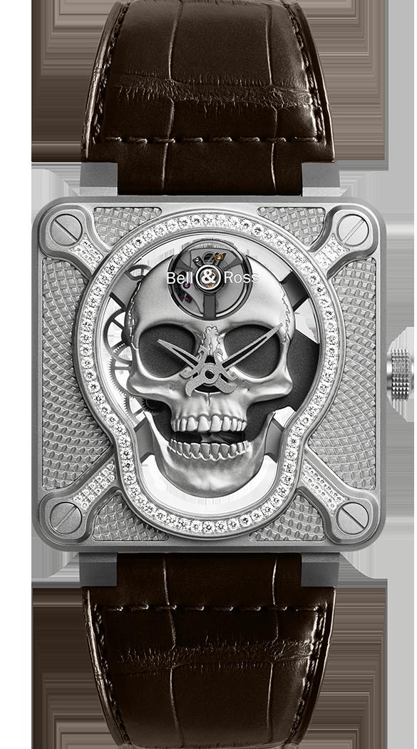 ベル&ロス BR 01 LAUGHING-SKULL DIAMOND 世界限定500本